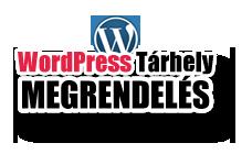 Wordpress-tárhely megrendelés